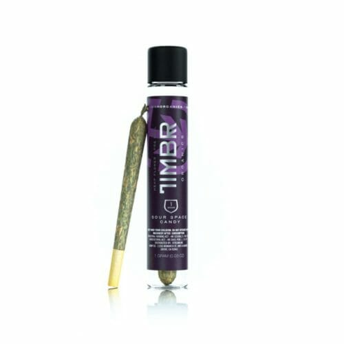 CBD Hemp Pre-Rolls - Sour Space Candy Strain